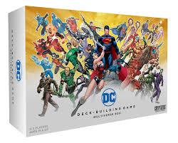 dc deck building game multiverse box cryptozoic entertainment