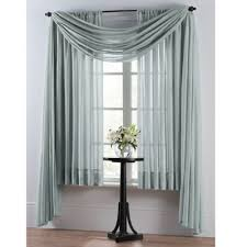 Bed Bath And Beyond Semi Sheer Curtains by Buy Sheer 108 Inch Window Curtain Panel In Blue From Bed Bath U0026 Beyond