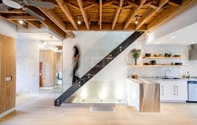 100 Exposed Joists Modern Lighting Ideas That Turn The Staircase Into A Open