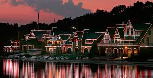 boathouse row debuts a brand new light show during a free festival