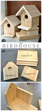 DIY Birdhouse Woodworking Projects For KidsCarpentry ProjectsSimple