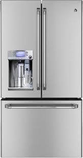 GE Cafe Series French Door Refrigerator Keurig K Cups Brewing System