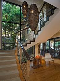 16 best stairs images on glass railing hallways and