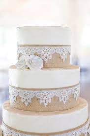Wedding Cake Cakes Country Chic Unique Rustic Decorations To