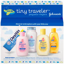 johnson s tiny traveler baby bath and baby skin care products