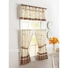 Walmart Kitchen Curtains Valances by Perfect Marvelous Kitchen Curtains Walmart Kitchen Curtains
