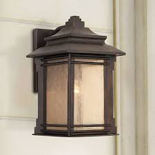 franklin iron works hickory point 19 high outdoor light 09639