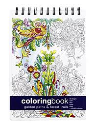 Garden Paths And Forest Trails Coloring Book
