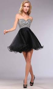 cute short sequin empire short black hoco dress ksp398 ksp398