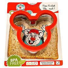 Mickey Mouse Bathroom Set Amazon by Amazon Com Crusty U0027s Mickey Mouse Sandwich Cutter High Quality