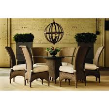 Seven Piece Dining Room Set by Lloyd Flanders U2013 Evans Lane