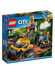 100 Lego City Tanker Truck LEGO 60159 Jungle Halftrack Mission At John Lewis Partners