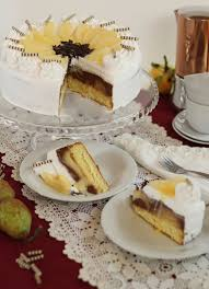 traumhafte birne helene torte