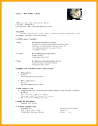 Character Reference Resume Example Philippines With References On Sample In 1 Letter Job Format
