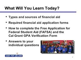 applying for financial aid sponsored by heritage high