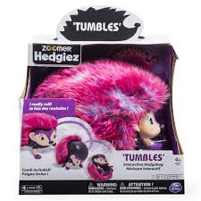 What Heat Lamp To Use For Hedgehogs by Zoomer Hedgiez Tumbles Interactive Hedgehog With Lights Sounds