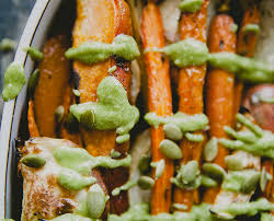 Can Bunny Rabbits Eat Pumpkin Seeds by Try This Easy Roasted Veggies With Pumpkin Seed Pesto The