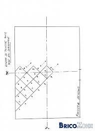 pose de carrelage en diagonale