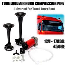 Black Air Horn Train Horn Kit Dual Trumpet 12V Car/Truck/Motorcycle ... Wolo Mfg Corp Air Horns Horn Accsories Comprresors Amazoncom 12v Dual Trumpet Air Horn Zone Tech Premium Quality Other Car Care Truck Train 6 Liter Tank Compressor 4 12v Truck Air Horn Youtube Aliexpresscom Buy Boat 178db Stebel Nautilus Compact 12volt 300hz Deep 110db Kleinn Horns Sdkit730 Bolton Hornonboard Cheap Find Deals On Line At Alibacom New 150db Single Plated Metal Kit Universal Complete System With Compressor Tank And 150db Mega W Dc