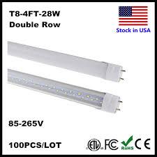 4ft led 28w 22w 18w led light 4 ft t8 led