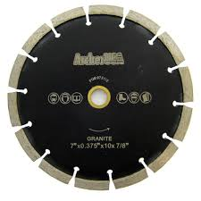 Qep Tile Saw 650xt by Qep 7 In Black Widow Micro Segmented Diamond Blade For Porcelain