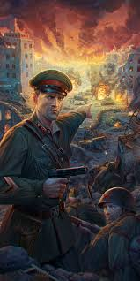 Most Decorated Russian Soldier Ever by Soviet Defense Of Stalingrad Ww2 War Art Pinterest Military