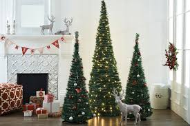 Silver Pre Lit Pop Up Christmas Tree by Silver Pop Up Christmas Tree Christmas Lights Decoration
