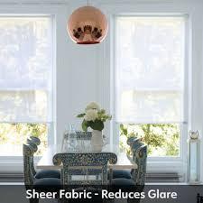made to measure sheer sheer white roller blind voile blinds
