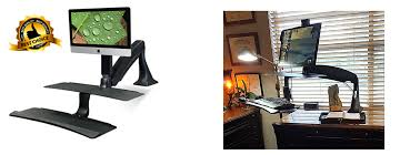 Ergo Standing Desk Kangaroo by Review Best Standing Desk Risers Stephanie Gilbert Pulse