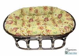 Double Papasan Chair Cover by Furniture Charming Rattan Outdoor Papasan Chair With Floral