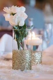 Centerpiece Vases Home Decor vases glitter dipped vases vases set