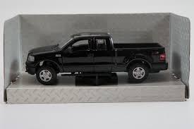 100 Ford 4x4 Truck 2004 F150 Black 1 31 Diecast Model Car By Maisto