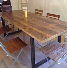 Reclaimed Wood Desk Top Office Furniture Modern Custom Reclaimed Wood Tables Black S Farmwood Motionmobs Office Space