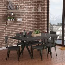 100 Birch Dining Chairs 17 Stories Darcelle 7 Piece Solid Set Wayfair
