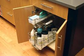 Under Cabinet Trash Can Pull Out by Trash Can Under Kitchen Sink U2013 Ningxu
