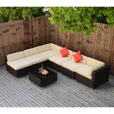 7PC Wicker Sofa Set Rattan Patio Furniture Table Chairs Cushioned Outdoor  Patio6 Supagarden Csc100 Swivel Rattan Outdoor Chair China Pe Fniture Tea Table Set 34piece Garden Chairs Modway Aura Patio Armchair Eei2918 Homeflair Penny Brown 2 Seater Sofa Table Set 449 Us 8990 Modern White 6 Piece Suite Beach Wicker Hfc001in Malibu Classic Ding And 4 Stacking Bistro Grey Noble House Jaxson Stackable With Silver Cushion 4pack 3piece Cushions Nimmons 8 Seater In Mixed