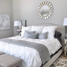 Honeywerehome Added A Pop Of Bold Beauty To Her Bedroom With Our Devon Mirror Gray