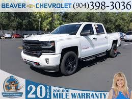 100 New Chevrolet Trucks 2018 Silverado 1500 LTZ 4D Crew Cab In Jacksonville