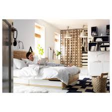 King Size Headboard Ikea by Mandal Bed Frame With Headboard 160x202 Cm Ikea