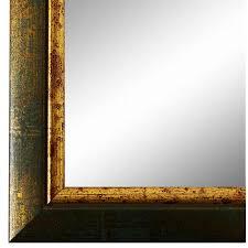 badezimmer neu spiegel wandspiegel flur garderobe blau gold