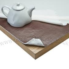 Extra Wide Luxury Felt Backed Table Protector