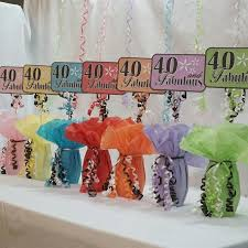 40th Birthday Decorations Canada by Best 25 40th Birthday Decorations Ideas On Pinterest 40