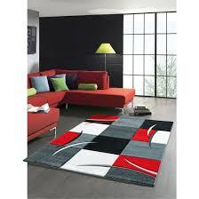 friseeteppich rot ca 120 x 170 cm
