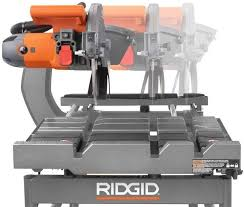 ridgid 10 wet tile saw with stand r4091 ebay