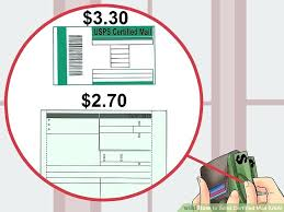 How To Send A Certified Letter With Return Receipt Image Titled Send