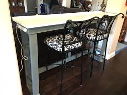 ana white behind sofa table bar work desk diy projects
