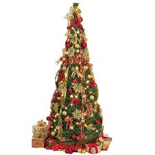 Collapsible Christmas Tree 6 FT With Lights