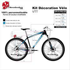 cadre velo sur mesure sticker cadre vtt vélo