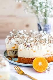 mandarinenkuchen mit pudding