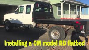 100 Bradford Truck Beds F250 Flatbed Mounting YouTube